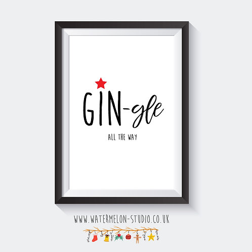 Gin gle all the way