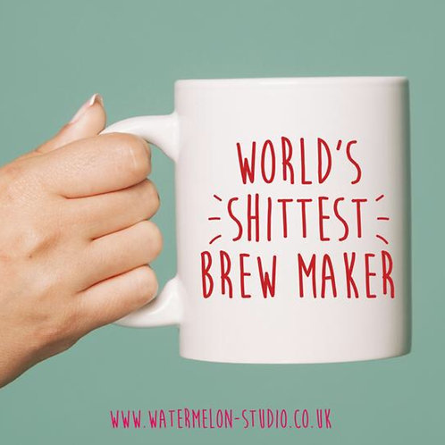 World's shittest brew maker