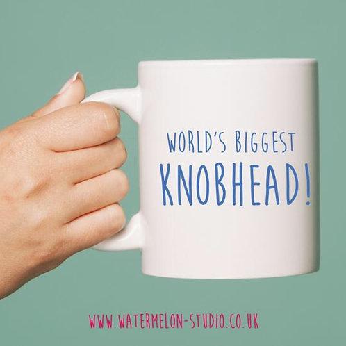 World's biggest knobhead - mug
