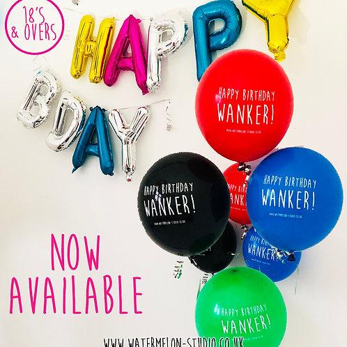 Happy Birthday Wanker - Multipack