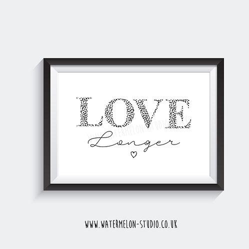 LOVE Longer - leopard print