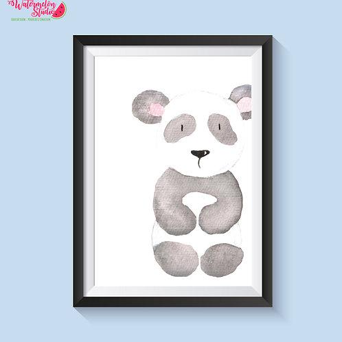 Pansi the Panda Print