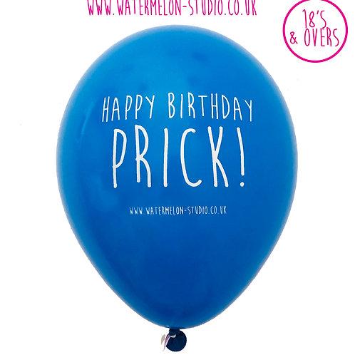 Happy Birthday Prick - Blue