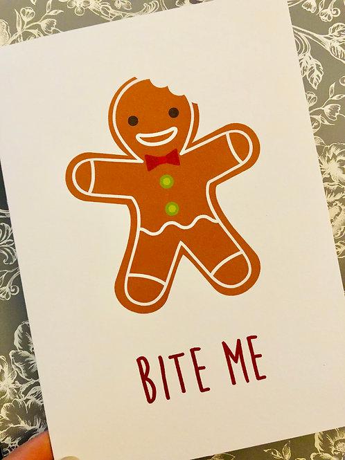 Bite Me - Card