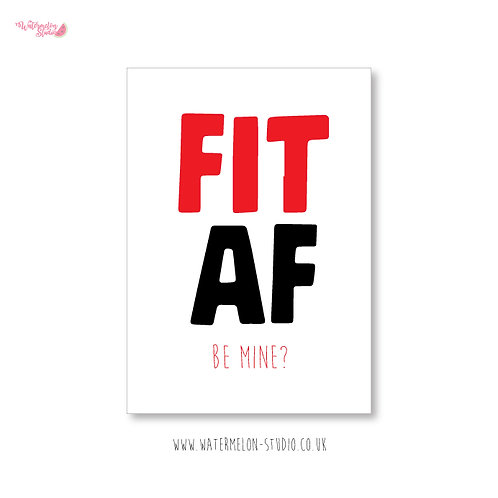 Fit AF - be mine?