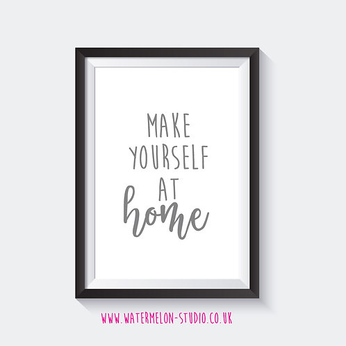 Make yourself at home