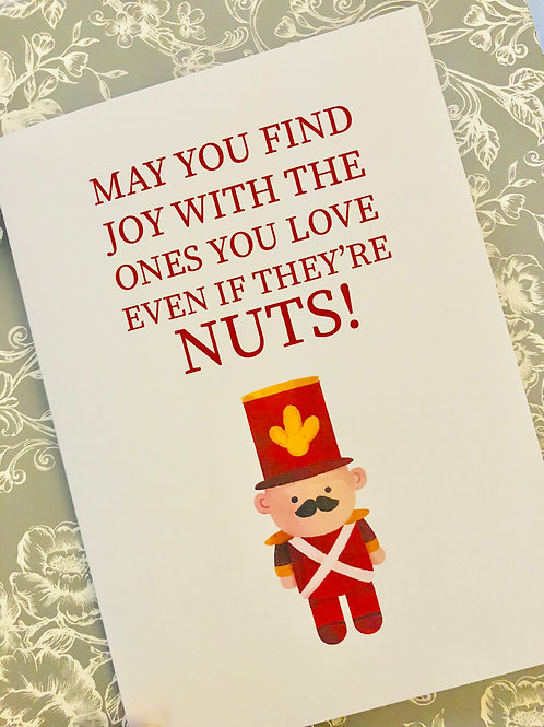 May you find Joy - card