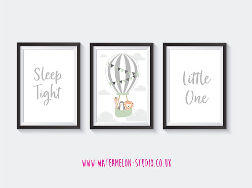 Sleep Tight Little One - Animal Set of 3