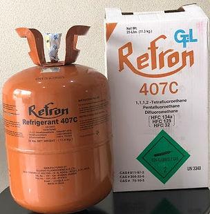 Ga lạnh R407c Refron Ấn Độ