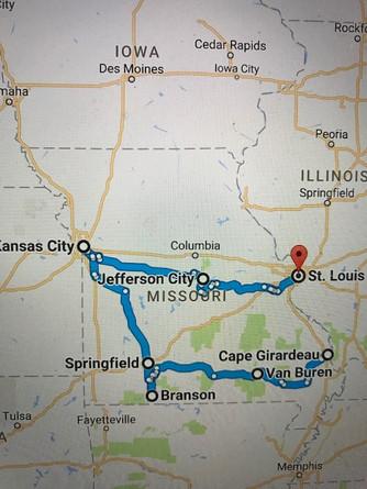 Our Missouri Trip