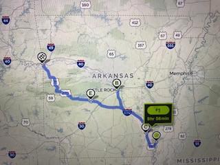 Our Arkansas Trip