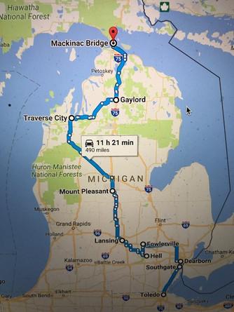 Our Michigan trip