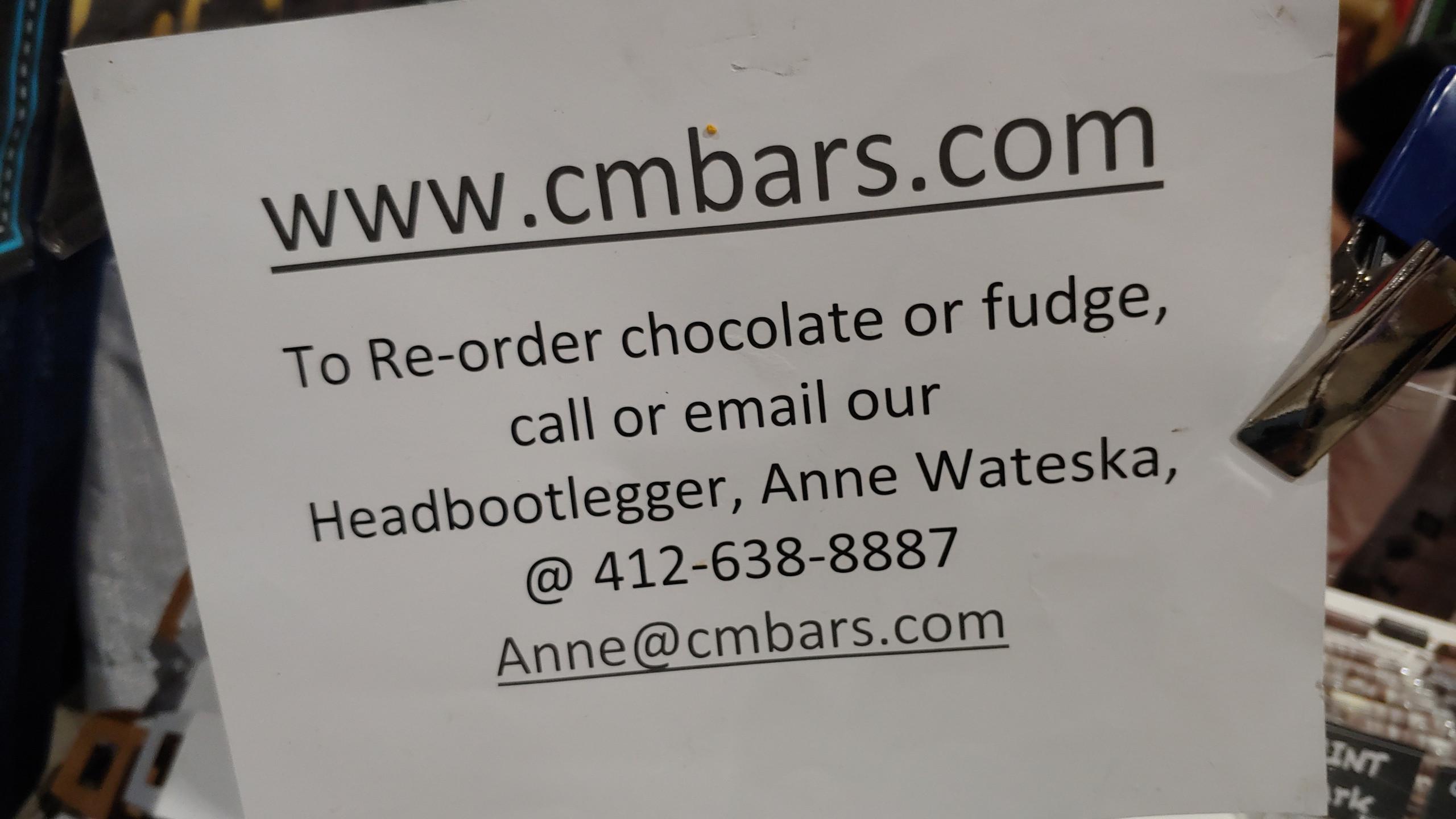 Chocolate Fundge Vendors