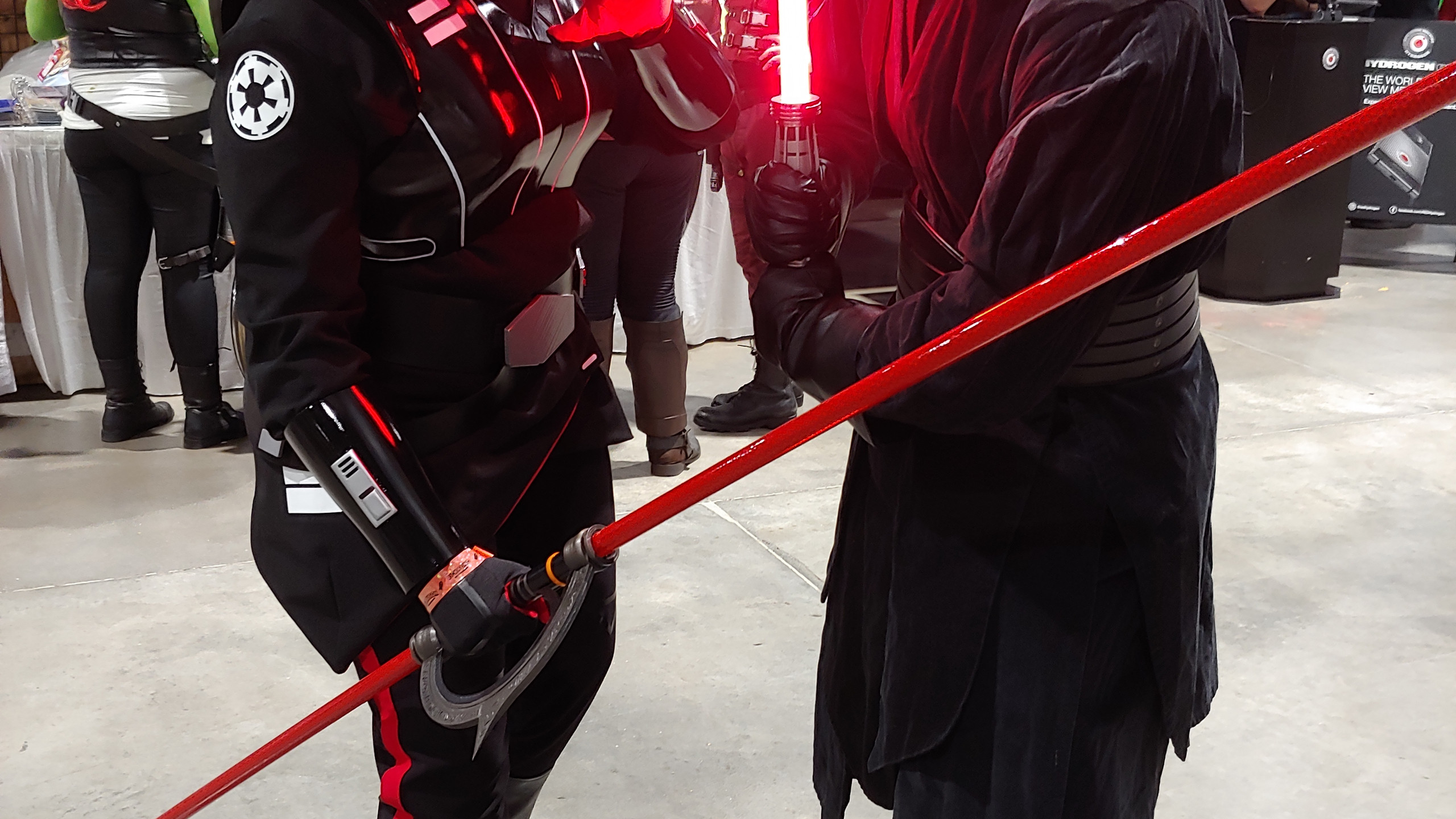 Sith Seventh Sister and Darth Maul