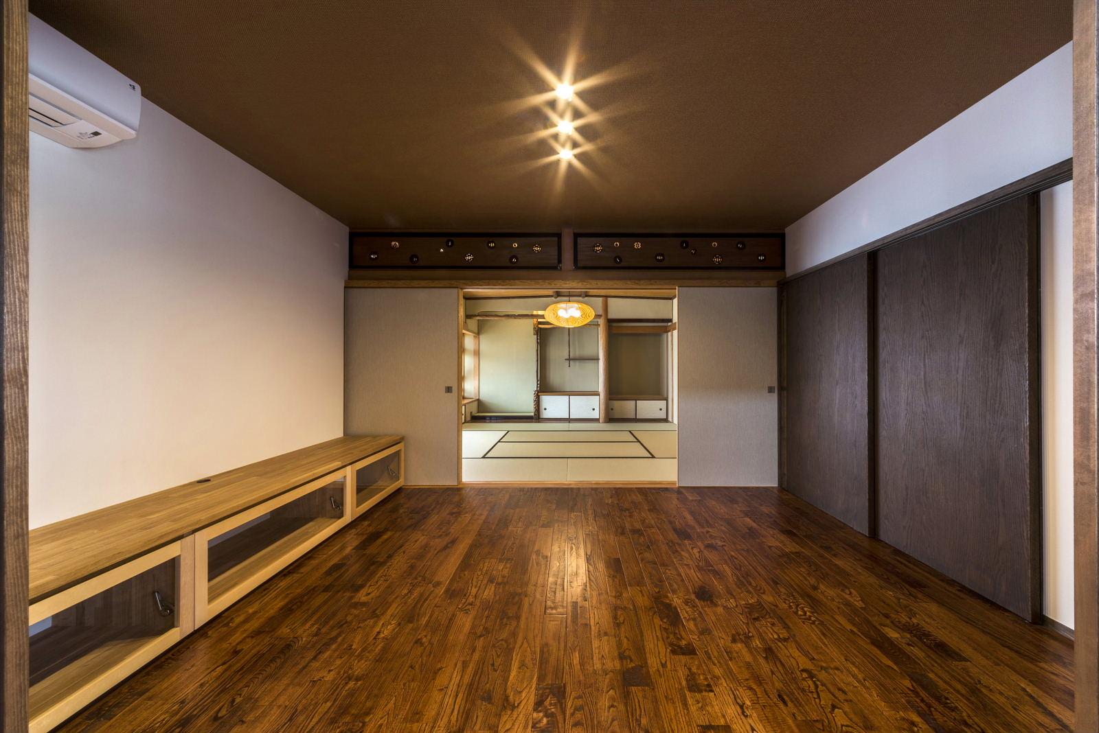 1階 リビング・座敷(和室)