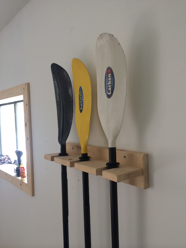 Paddle Rack in Pine