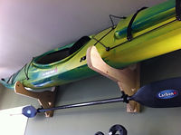 Ultimate kayak racks wood paddle canoe Picton
