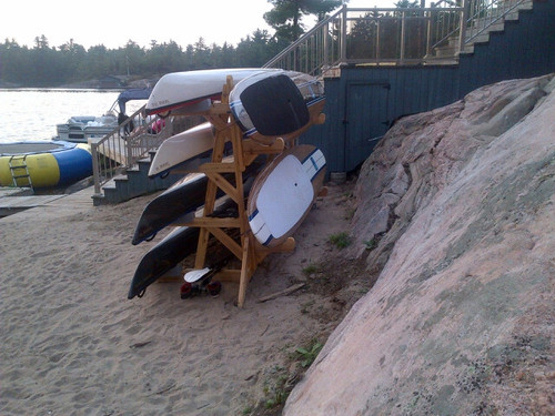 Quad Rack with 2 SUP boards
