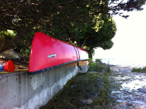 Cedar Canoe Rack