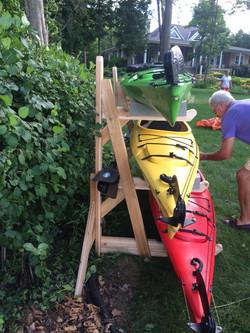 Triple Kayak