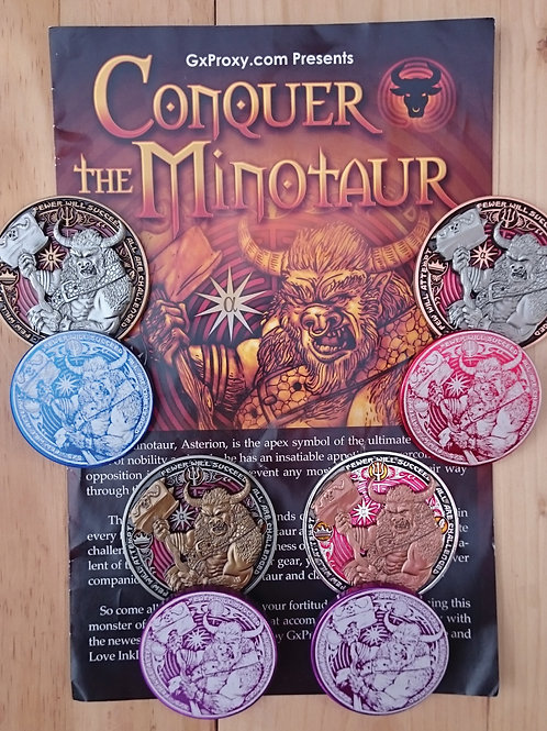 CONQUER THE MINOTAUR - Full Set of 4
