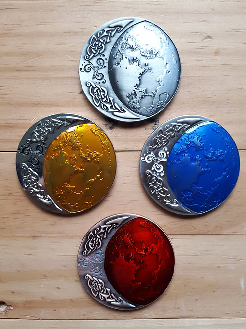 Hunting the Celtic Moon - Set of 4 (Non-Trackable)