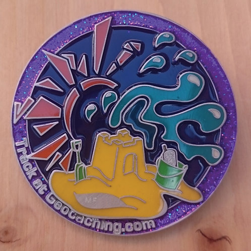 Mega Finland 2016 Official event Geocoin (JP's SE)