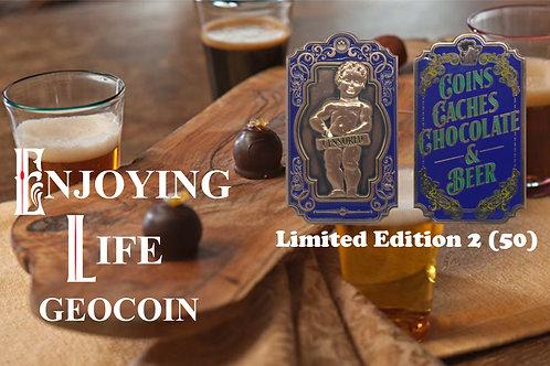 Enjoying Life Geocoin - Limited Edition 2 (50)