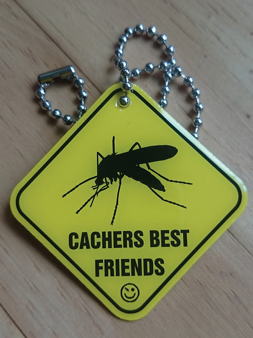 Cachers Best Friend - Mosquito Tag