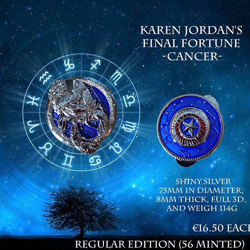 Karen Jordan's Final Fortune - Cancer - Regular Edition (56 minted)