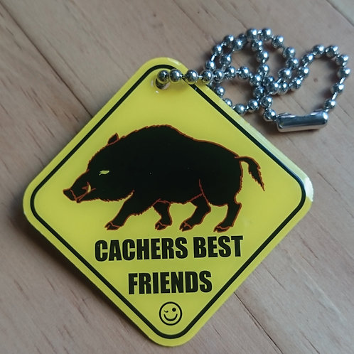 Cachers Best Friend - Boar Tag