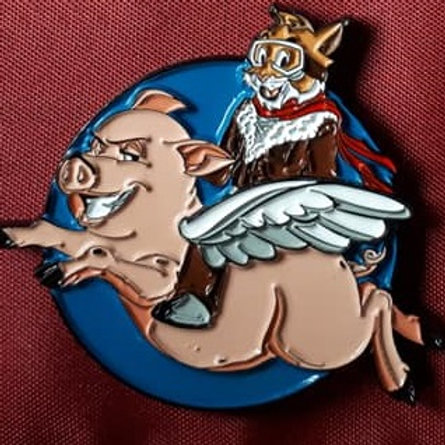 When Pigs Fly Geocoin Regular Edition
