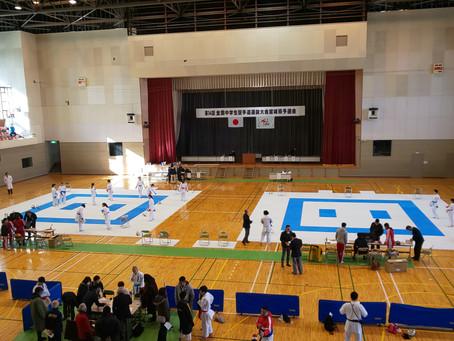 第14回全国中学生空手道選抜大会宮城県予選会