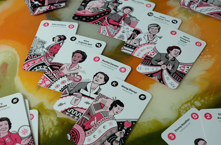 Women of Science Tarot Card Deck