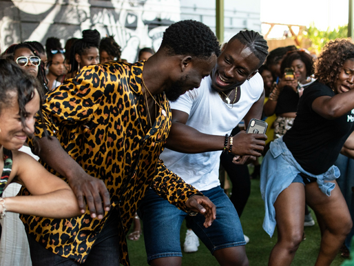 With Afro-beat music on the rise, Afro-themed dance parties are growing too.