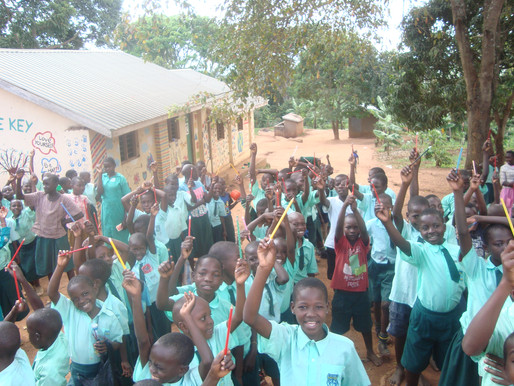 Sponsorship enables a less privileged child to access school and have hope for a brighter future.