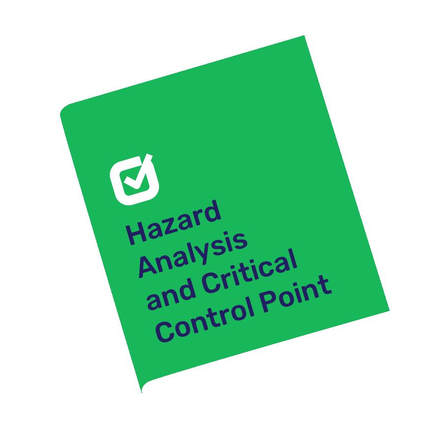 HACCP plan and sample