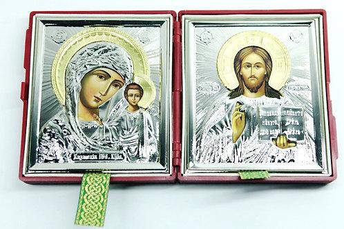 Quadro Jesus e Maria