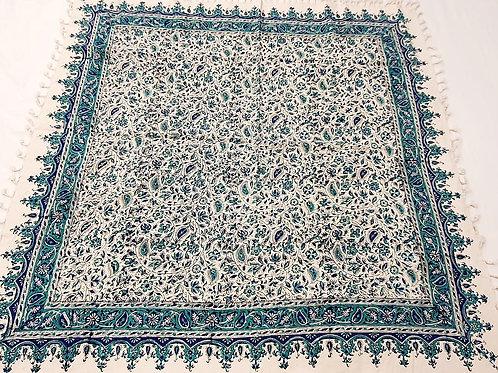 Toalha de Mesa Persa Azul