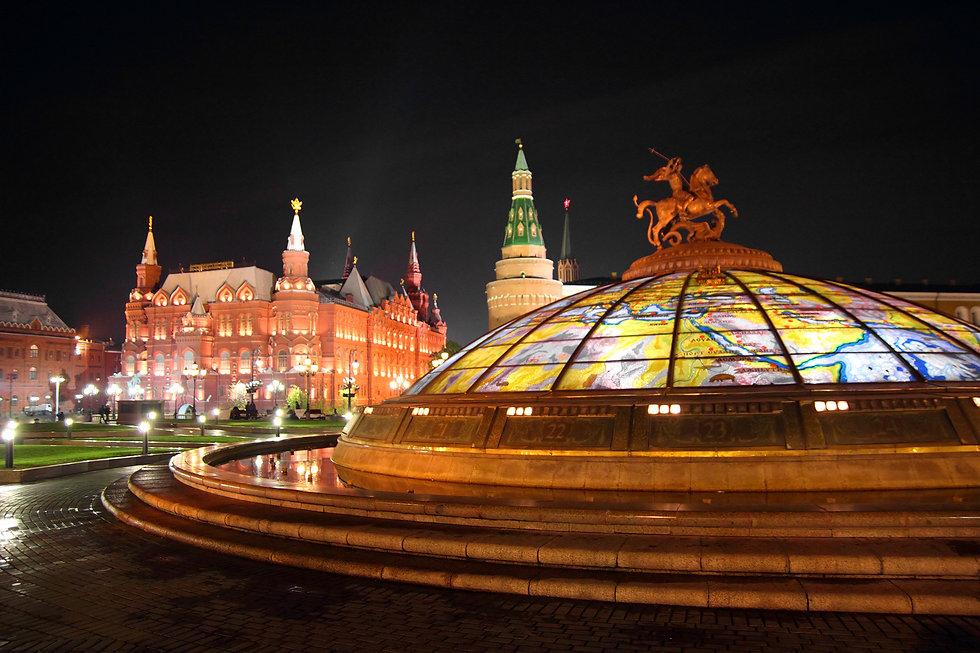 Moscou_-_Cúpula_da_Praça_do_Manège_e_Mus