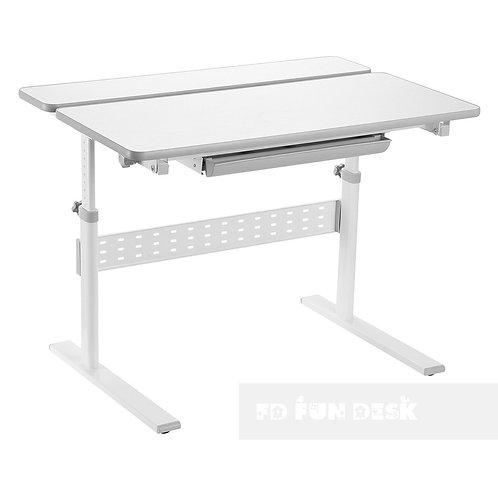 Colore Grey -  Regulowane biurko dziecięce