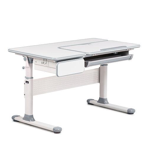 Toru Grey - regulowane biurko szkolne Cubby