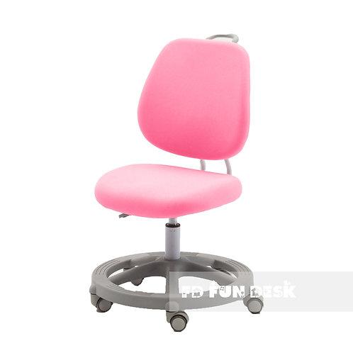 Pratico Pink - Krzesełko z regulacją wysokości