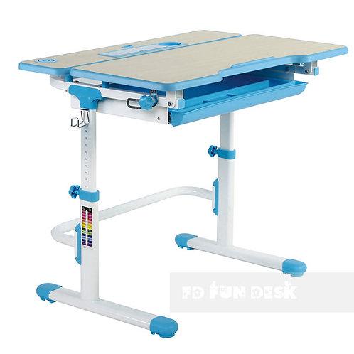Lavoro L Blue - Regulowane biurko