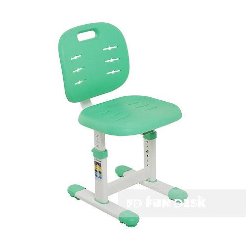 SST2 Green New - Regulowane krzesełko dziecięce FunDesk