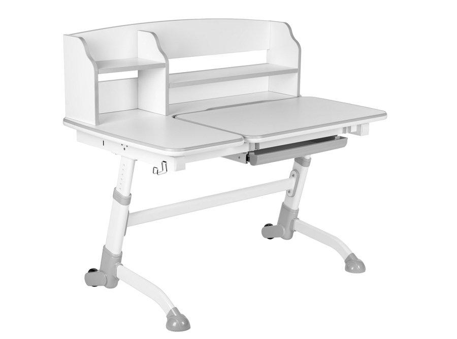 biurko i krzeslo Amare II Grey with Drawer + SST5