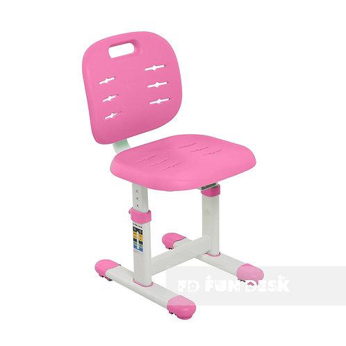 SST2 Pink - Regulowane krzesełko dziecięce FunDesk