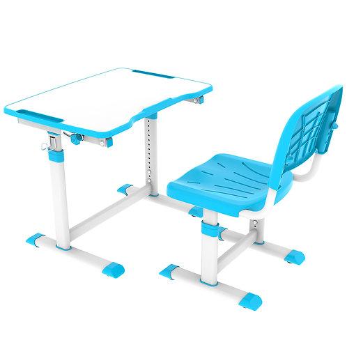 Olea Blue - Biurko z krzesełkiem dla dzieci