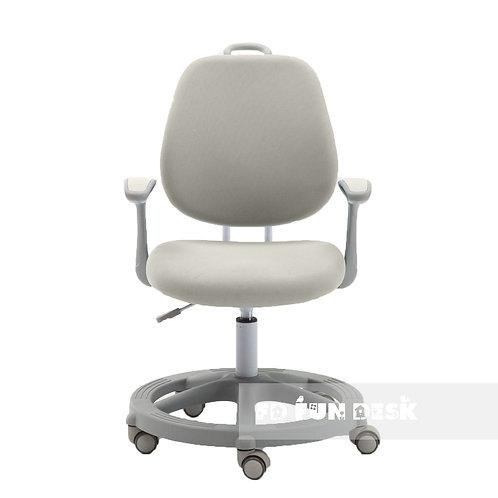 Vetta Grey - Krzesełko z regulacją wysokości oraz podłokietnikami