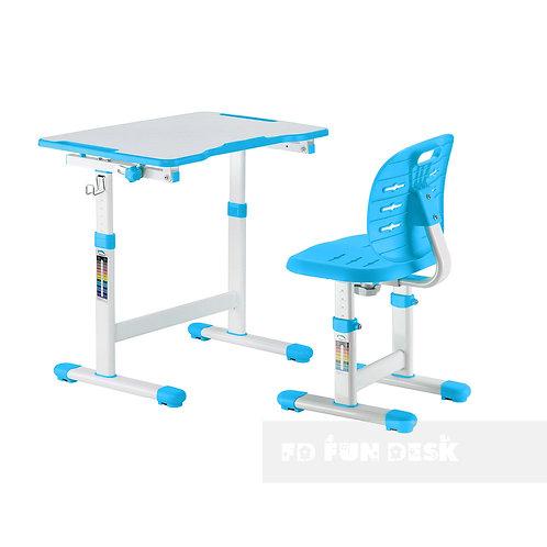 Omino Blue - Biurko z krzesełkiem dla dzieci